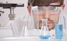 Researcher in Laboratory