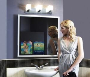 Реклама на зеркалах